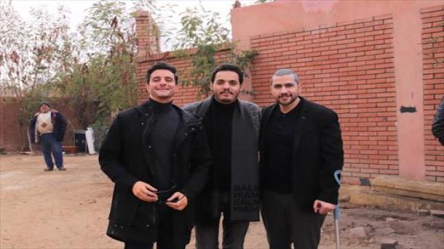 إعلان أحمد الفيشاوي عن انتهاء تصوير فيلم الحارث